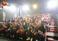 Amazing 4d Cinema Equipment , 4d Motion Chair 2-100 Seats Available