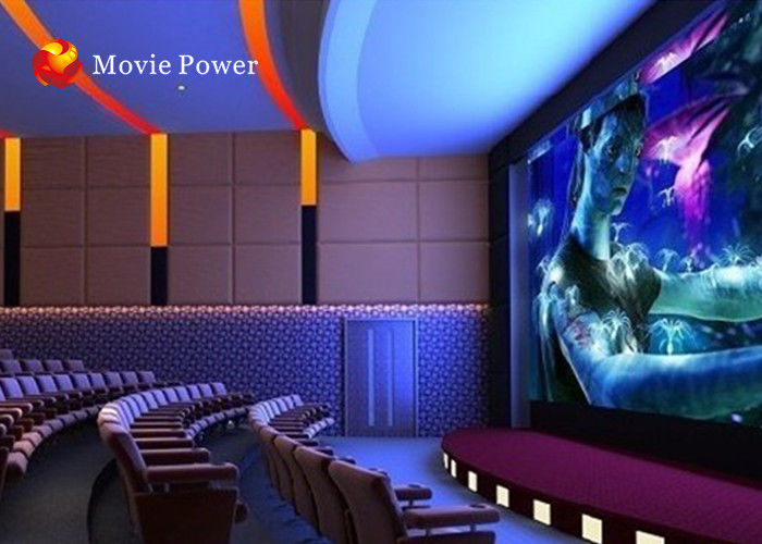 Fog Smell Fire Imax 4D Home Theater 4D Dynamic Cinema With Black
