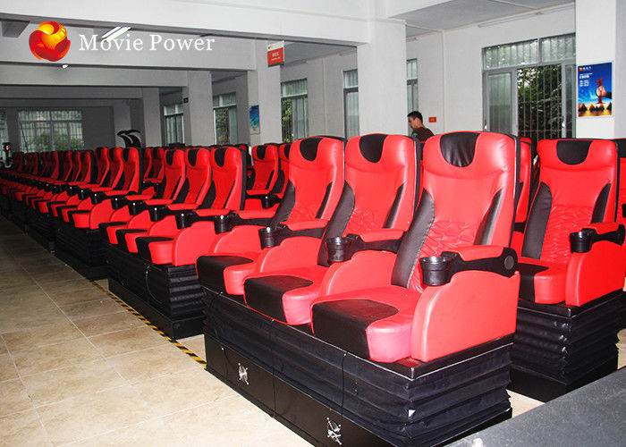 Large 80 Seat 4D Cinema Equipment 4D Simulator Blow Water / Air To Face supplier