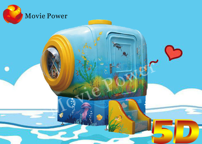 Lovely Electric Platform Small Space 5D Mini Cinema with Two Seat