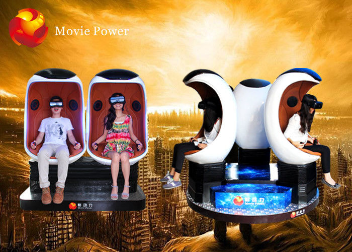 China Commercial 9D VR Cinema 360 Degree Virtual Reality Egg Cinema Equipment factory
