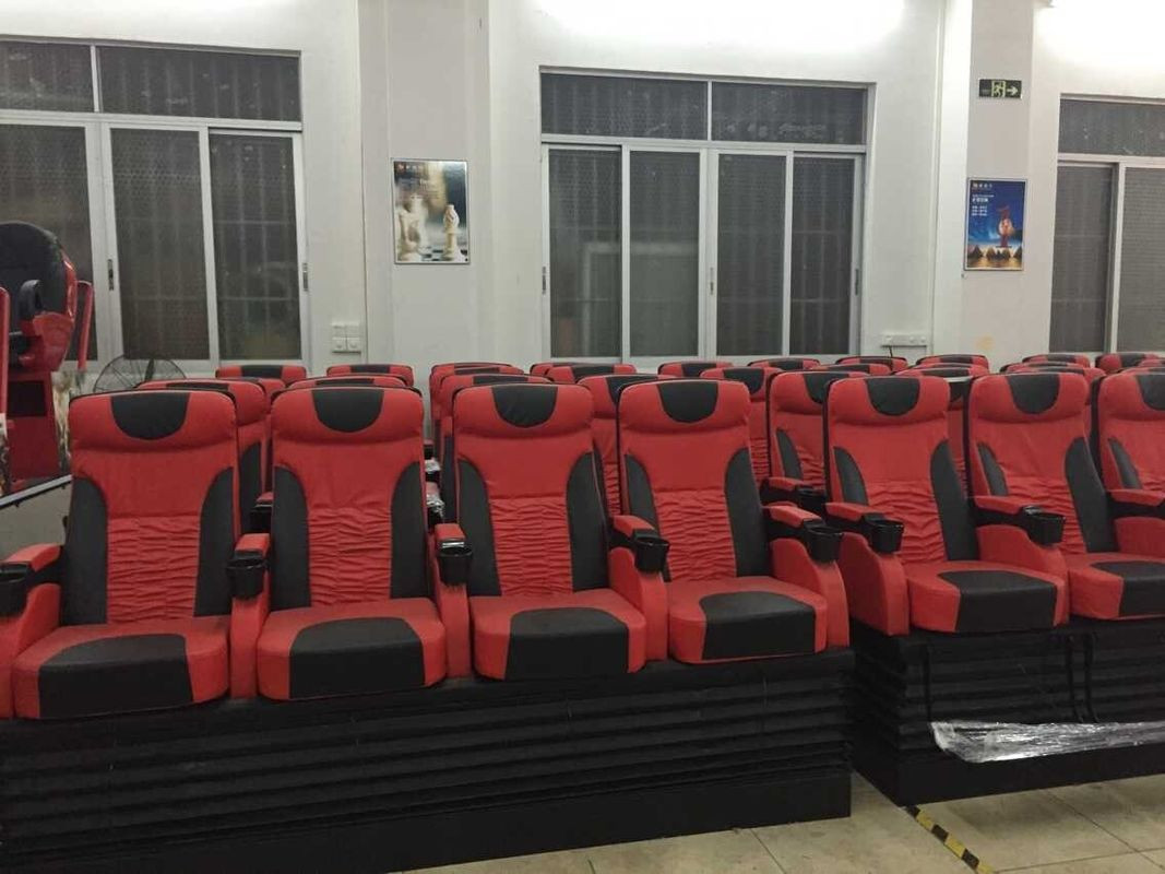 China 3DOF Motion Platform 4D Cinema Equipment For Technology Museums factory