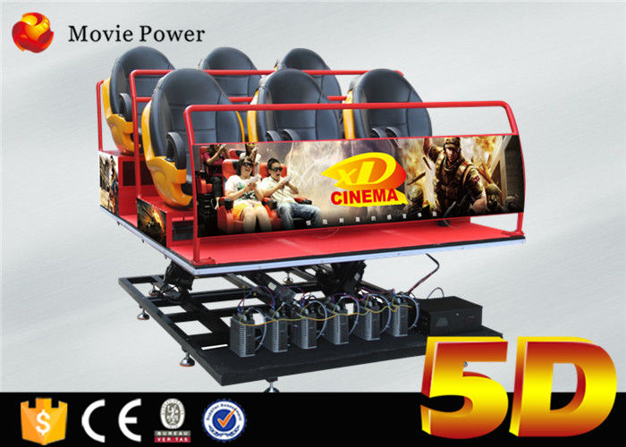 19270d0db097 Virtual Reality 5d Cinema Theatre With 5d Chair 5d Seat 6 Dof Motion  Platform