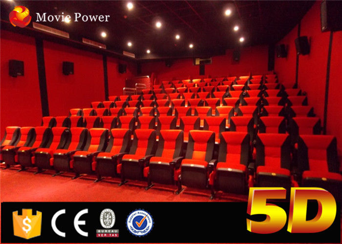 3D Visual And 5D Motional 24 Seats 5d Cinema With Special Effects