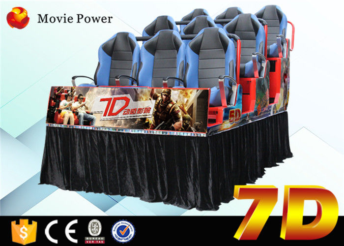 China Customized 360 Movie Game VR 7D Film Theater Experience 1 Year Warranty factory