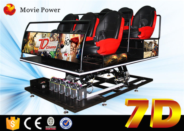 China Professional 5.1 channel audio 7D Movie Theater with virtual reality gun shooting game factory
