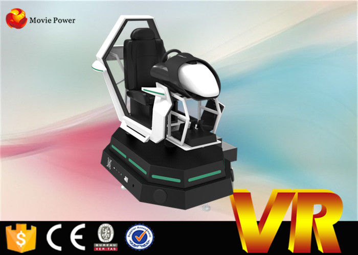 3 Dof Electric 9d Vr Cinema Motion Machine 360 Degree Racing Car Seat