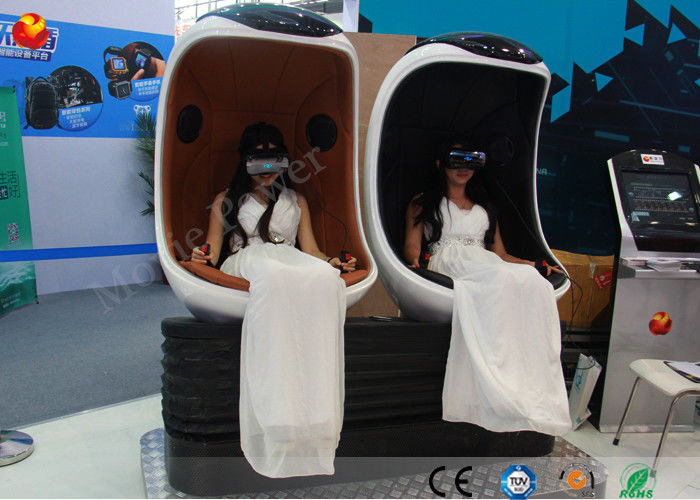 China Luxury 9d Virtual Reality Cinema Egg Vr Simulator Cinema For Shopping Mall factory
