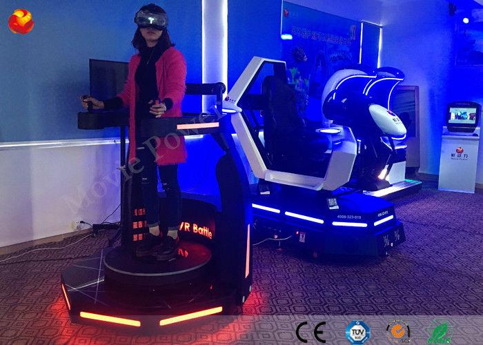 0dbb3f06c4eb Movie Power 9D VR Cinema Standing Virtual Reality Cinema Shooting Game  Machine