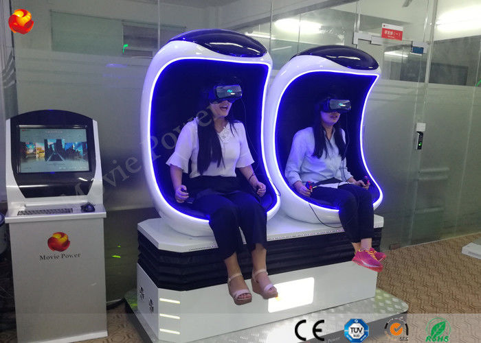 China Funny Games Amusement Park Equipment 9d Virtual Reality Cinema 220V Electric System factory