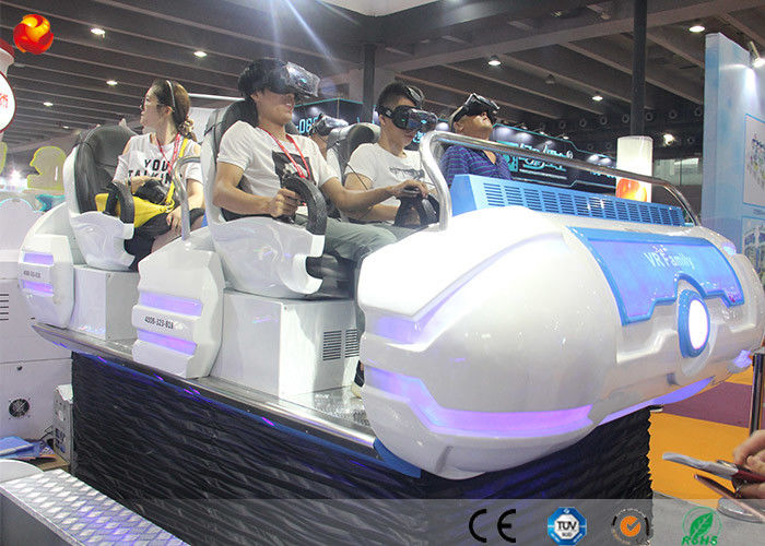 China Interactive VR Equipment 12D Cinema 6 Seats 9D VR Family Shooting Simulator factory