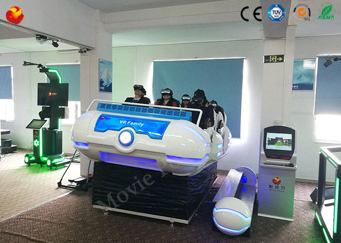 Electric Cylinder  VR 5D/9D Cinema Luxury 6 Seats Cool Appearance Simulator