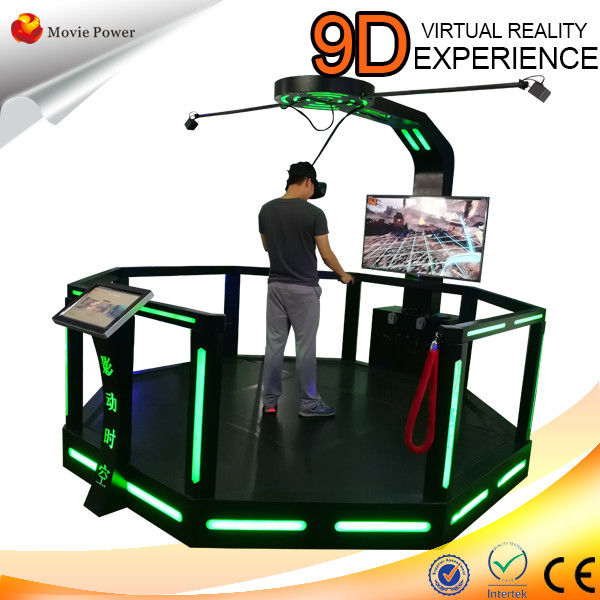 VR Gun Shooting Game Machine Virtual Reality Simulator Portable Entertainment Equipment