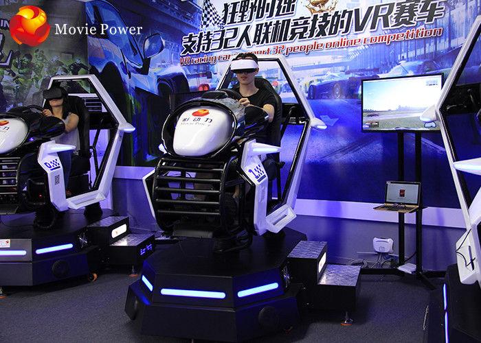 Arcade Play Games 9D VR Cinema Car Racing Machine XD Racing