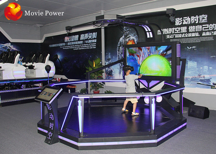 Virtual Reality Cinema 2 Handles Vr Theme Park Equipment