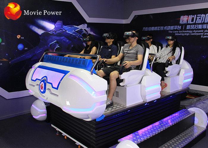Crazy Adventure Multiple-Light Body 9D Simulator 6 Dof