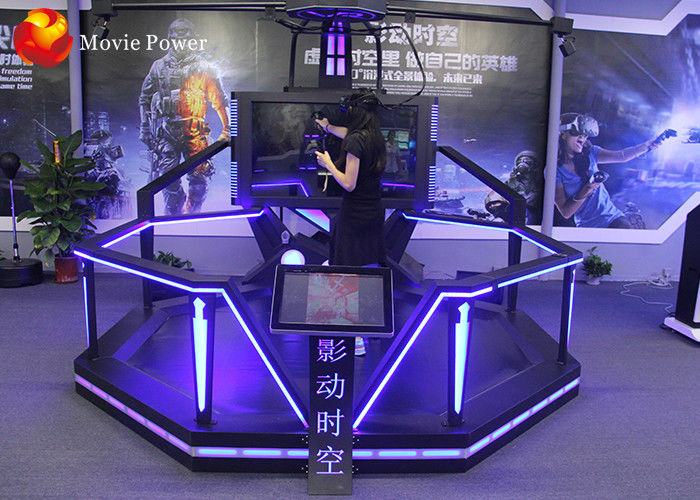 vr walking standing up cinema virtual reality simulator with htc