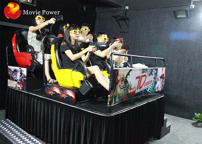 China Professional 7D 9D Cinema Theater Movie Simulator 9D VR Cinema Simulator factory