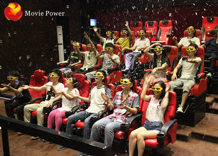 China Latest Scientific Dynamic Journey 4D Movie Theater Thrill Rides Electric System factory