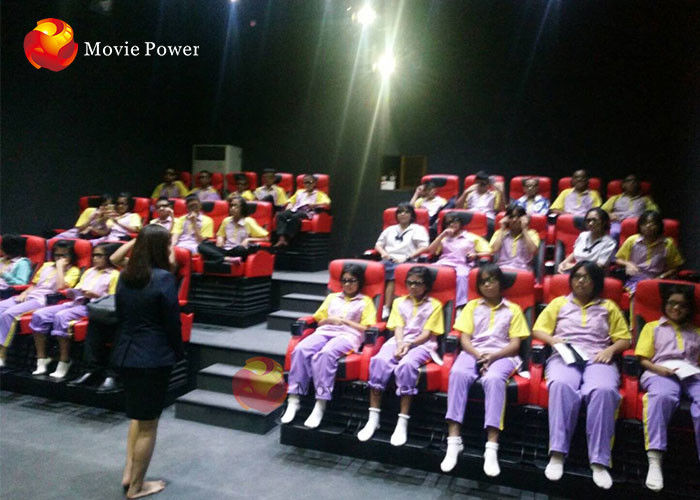 China High Performance 4D Movie Theater Simulator With Different Styles / Colors factory