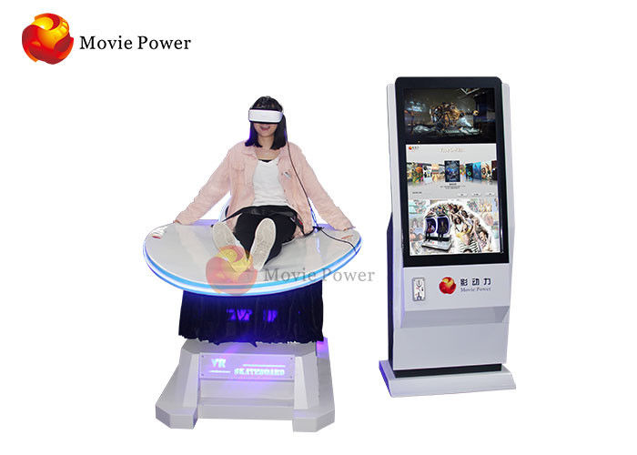 Thrilling Game Experience Virtual Reality Game Machine Motion Chair VR Simulator Roller Coaster For Amusement Park