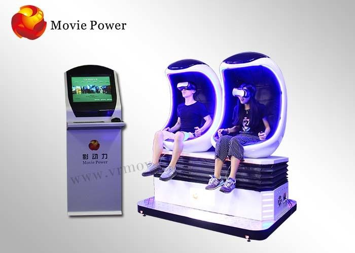 Easy Operation Egg Machine Simulator , 9d Vr Egg 360 °Rotating Platform supplier