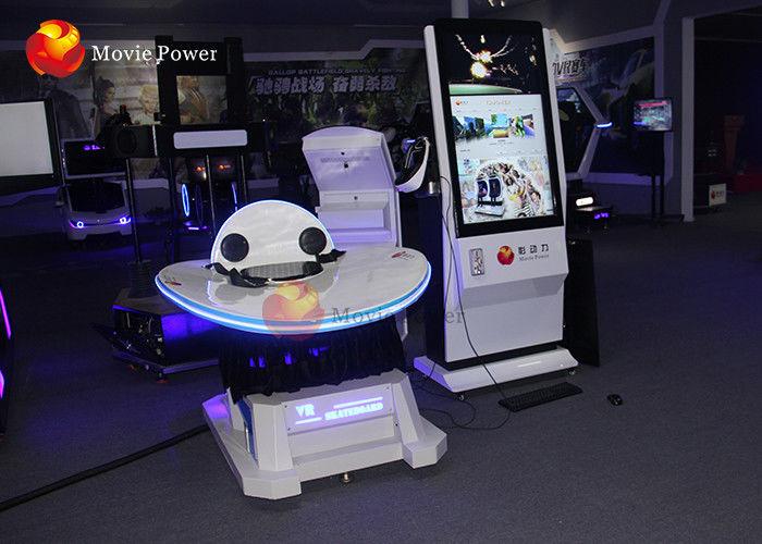 Wild 3 Dof Virtual Reality 9D Simulator For Supermarket / Movie Theater