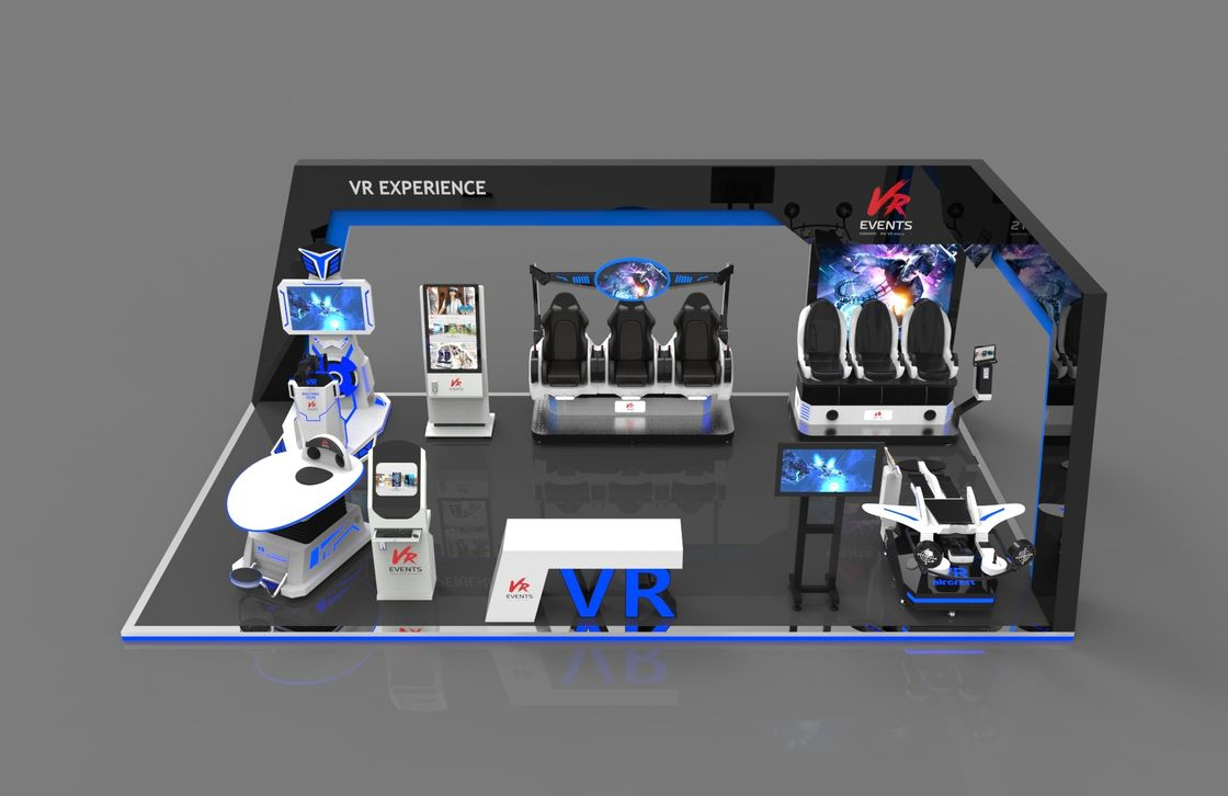Outdoor VR children playground equipment VR theme park one stop design play zone vr 9d virtual reality cinema