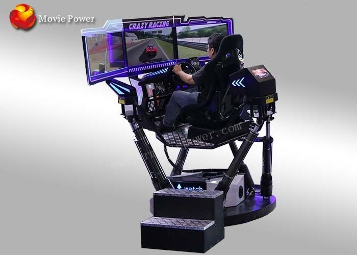 360 Degree Dynamic 9D Simulator , 3 Screens Arcade Game Machines
