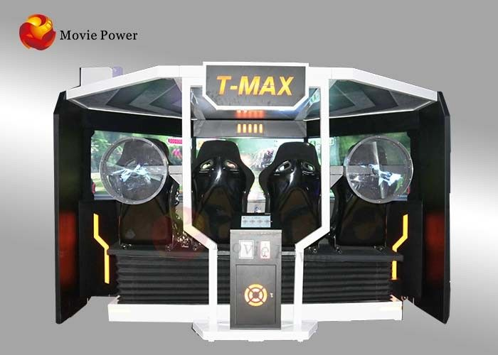 China 5D Tmax Arcade Video Gun Laser Shooting Simulator Game Machine Black Color factory