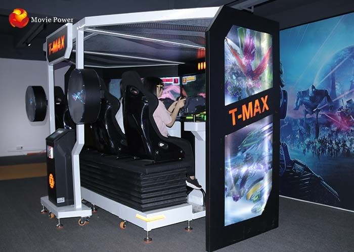 China Four Players 7D Cinema Equipment / Multi - Seats 5D T - MAX Theater factory