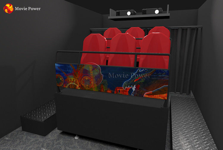 Dynamic Source 3.75KW 7D Movie Theater supplier