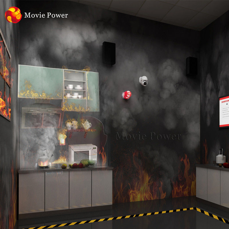 Science Research VR Games Equipment Virtual Reality Game Fire Safety Motion Simulator