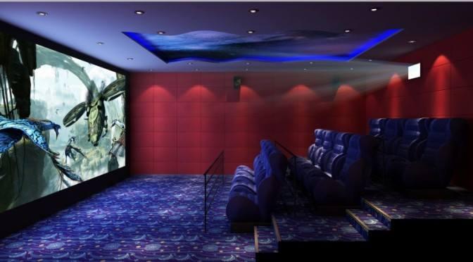 snow bubble rain hd 4d movie theater digital movie theater