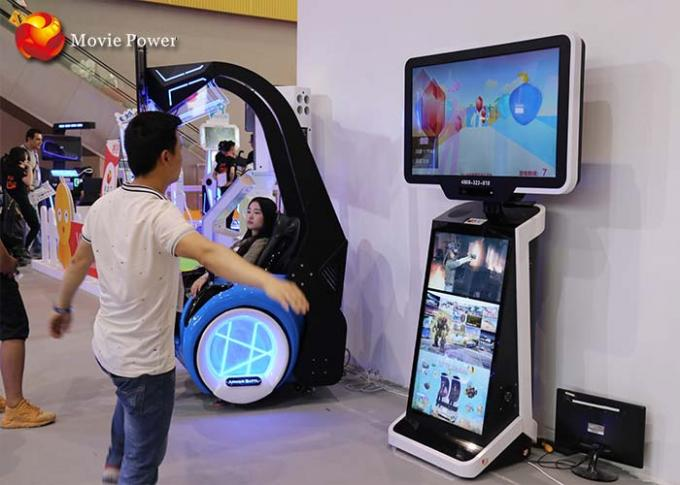 9d Walk Virtual Reality Simulator For Airport , Club , Theater