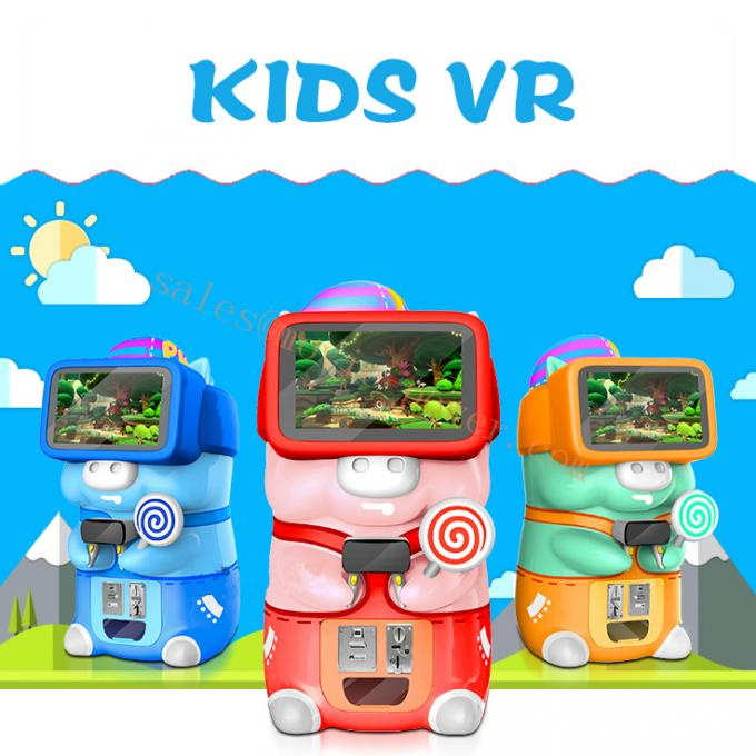 Kids / Children Vr Game Center 9d Virtual Reality Cinema CE Certificate
