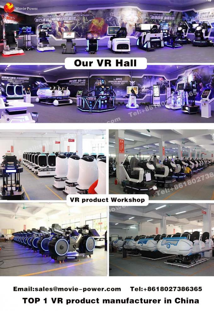 5 Players Target Shooting Arcade Game Machine Ar Motion Simulator For Shopping Mall