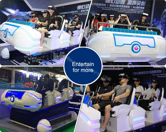 6 Seat Damily Game 9D VR Cinema 10 Square Meter Area  ISO9001 SGS