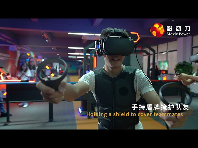 Multiplayer Gatling VR Shooting Simulator For Shopping Mall 12 Months Warranty